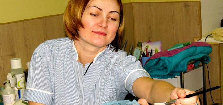 Комплексный уход для лица в кабинете Виктории Панченко