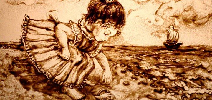 Мастер-класс по песочной анимации в студии «Творчество без границ»