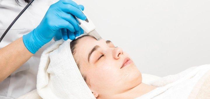 Ультразвуковая чистка лица в салоне beauty «BAXTER» salon