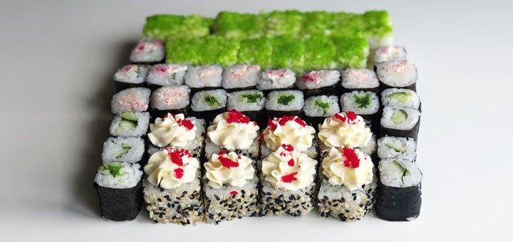 Скидка 54% на килограммовый суши-сет «Кавасаки» от сети суши-магазинов «Суши-Сет»
