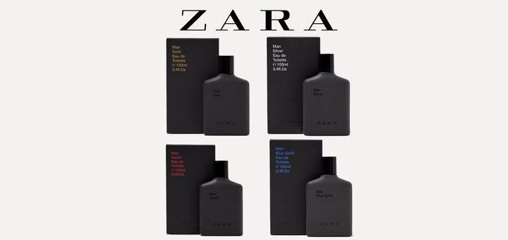 Скидка -25% на духи марки ZARA