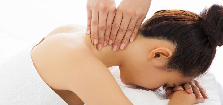 До 10 сеансов массажа спины, шейно-воротниковой зоны и стоп в студии красоты «AntiSalon Relax»